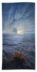 Morning Time Blues Hand Towel