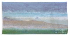 Morro Rock View From Hwy 46 Hand Towel