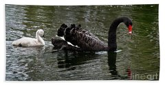 Mother And Baby Hand Towel