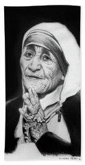 Mother Teresa Hand Towel