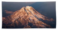 Mount Rainier Hand Towel