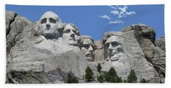 Mount Rushmore Hand Towel