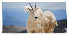 Mountain Goat Hand Towel