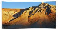 Hand Towel featuring the photograph Mountain Gold by Whitney Goodey