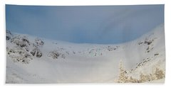 Mountain Light, Tuckerman Ravine Bath Towel