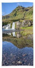 Mountain Reflection Hand Towel