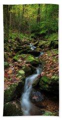 Mountain Stream - Blue Ridge Parkway Hand Towel