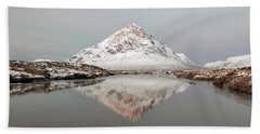 Mountain Sunrise - Glencoe - Scotland Bath Towel