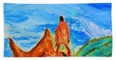 Mountain Vista Hand Towel