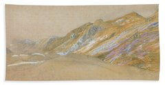 Mountains By The Traveller's Rest Near Dolgelly - Digital Remastered Edition Bath Towel