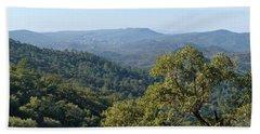 Mountains Of Loule. Serra Do Caldeirao Bath Towel
