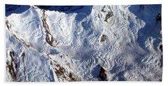 Mountaintop Snow Hand Towel