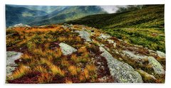 Mt. Washington Nh, Autumn Rays Bath Towel