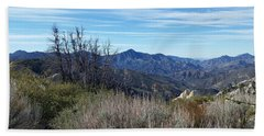 Bath Towel featuring the photograph Mt. Wilson - View 1 by Karen J Shine