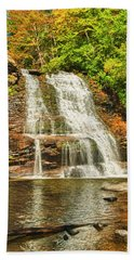 Muddy Creek Falls Bath Towel
