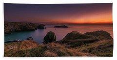 Mullion Cove - Sunset 2 Hand Towel