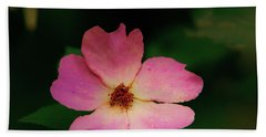 Multi Floral Rose Flower Bath Towel