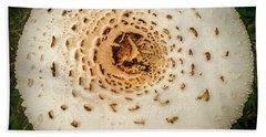 Mushroom Mandala Bath Towel
