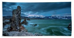 Mystical Mono Lake Hand Towel