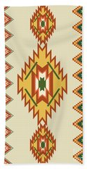 Native American Rug Bath Towel