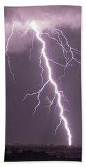 Nebraska Arcus And Lightning 046 Bath Towel