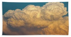 Nebraska Sunset Thunderheads 053 Bath Towel