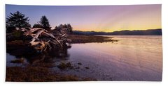 Nehalem Bay Sunrise Bath Towel
