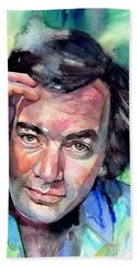 Neil Diamond Portrait I Hand Towel