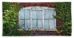 Ness Gardens.  Window. Bath Towel