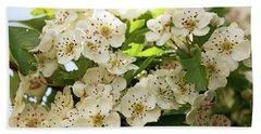 Neston.  Hawthorn Blossom. Hand Towel