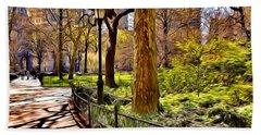 New York Central Park Hand Towel