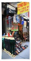 New York City Shoe Shop 2013 Bath Towel