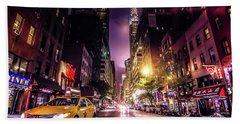 New York City Street Hand Towel