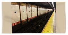 New York City Subway Line Hand Towel
