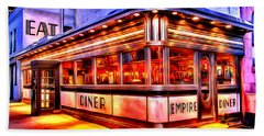 New York Empire Diner Hand Towel
