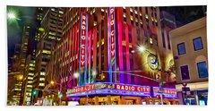 New York Radio City Music Hall Hand Towel