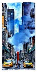 New York Steam Hand Towel