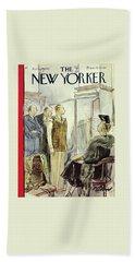 New Yorker April 18th 1942 Bath Towel