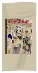 New Yorker August 11, 1951 Bath Towel