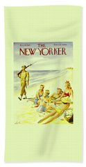 New Yorker August 14th 1943 Bath Towel