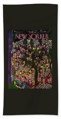 New Yorker August 7th 1943 Bath Towel