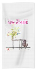 New Yorker Cover June 5 1989 Bath Towel