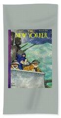 New Yorker December 26th 1942 Bath Towel