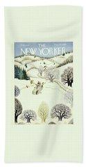 New Yorker February 1, 1947 Bath Towel