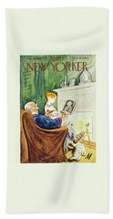 New Yorker February 23, 1946 Bath Towel