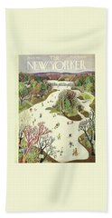 New Yorker January 16th 1943 Bath Towel