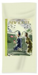New Yorker January 23rd 1943 Bath Towel