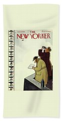 New Yorker June 13th 1942 Bath Towel