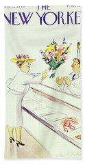 New Yorker June 22nd 1946 Bath Towel