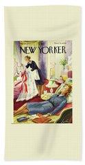 New Yorker June 6th 1942 Bath Towel